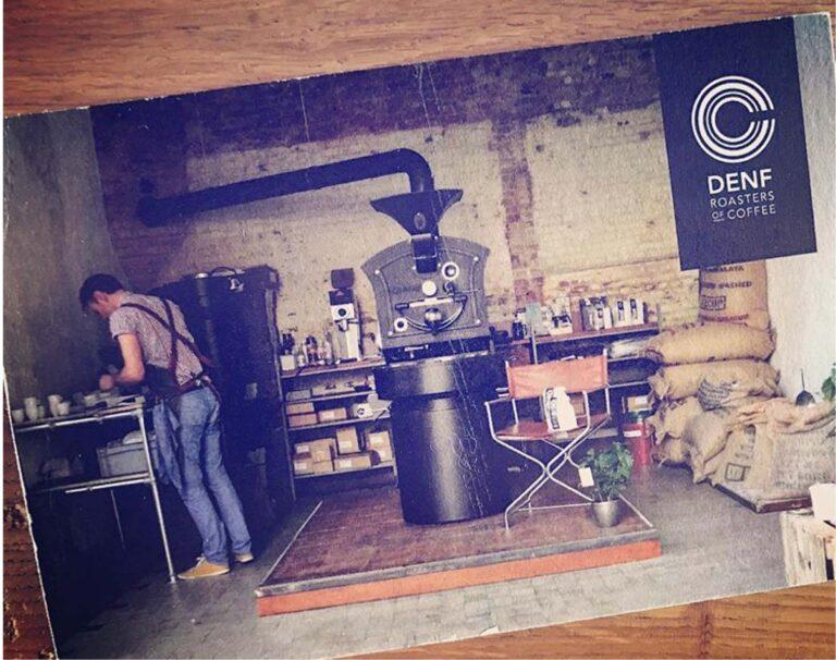 DENF Coffees eerste roastery